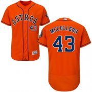 Wholesale Cheap Astros #43 Lance McCullers Orange Flexbase Authentic Collection Stitched MLB Jersey