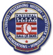 Wholesale Cheap Stitched MLB National MLB Hall Of Fame and Museum Patch