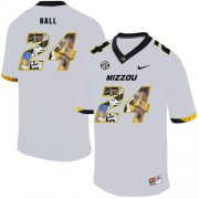 Wholesale Cheap Missouri Tigers 24 Terez Hall White Nike Fashion College Football Jersey