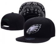 Wholesale Cheap NFL Philadelphia Eagles Fresh Logo White Adjustable Hat 12