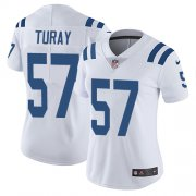 Wholesale Cheap Nike Colts #57 Kemoko Turay White Women's Stitched NFL Vapor Untouchable Limited Jersey