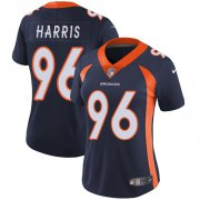 Wholesale Cheap Nike Broncos #96 Shelby Harris Navy Blue Alternate Women's Stitched NFL Vapor Untouchable Limited Jersey