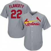 Wholesale Cheap Cardinals #22 Jack Flaherty Grey New Cool Base Stitched MLB Jersey