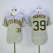 Wholesale Pirates #39 Dave Parker Grey Flexbase Authentic Collection Stitched Baseball Jersey