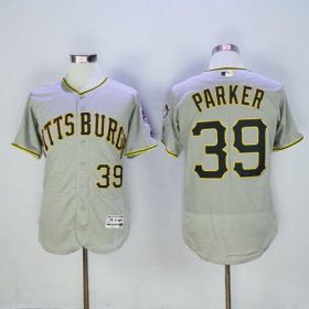 Wholesale Cheap Pirates #39 Dave Parker Grey Flexbase Authentic Collection Stitched MLB Jersey