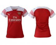 Wholesale Cheap Women's Arsenal Blank Home Soccer Club Jersey