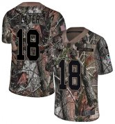 Wholesale Cheap Nike Patriots #18 Matt Slater Camo Youth Stitched NFL Limited Rush Realtree Jersey