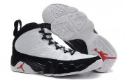 Wholesale Cheap Womens Air Jordan 9 Retro Shoes White/black-red