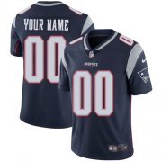 Wholesale Cheap Nike New England Patriots Customized Navy Blue Team Color Stitched Vapor Untouchable Limited Youth NFL Jersey