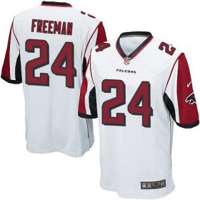 Wholesale Cheap Nike Falcons #24 Devonta Freeman White Youth Stitched NFL Elite Jersey