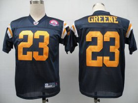 Wholesale Cheap Jets #23 Shonn Greene Blue With AFL 50TH Patch Stitched NFL Jersey