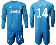 Wholesale Cheap Juventus #14 Matuidi Third Long Sleeves Soccer Club Jersey