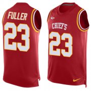 Wholesale Cheap Nike Chiefs #23 Kendall Fuller Red Team Color Men's Stitched NFL Limited Tank Top Jersey