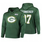 Wholesale Cheap Green Bay Packers #87 Jace Sternberger Nike NFL 100 Primary Logo Circuit Name & Number Pullover Hoodie Green