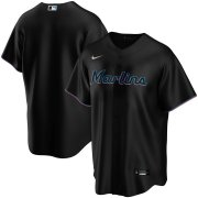 Wholesale Cheap Miami Marlins Nike Youth Alternate 2020 MLB Team Jersey Black