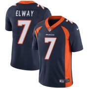 Wholesale Cheap Nike Broncos #7 John Elway Blue Alternate Youth Stitched NFL Vapor Untouchable Limited Jersey