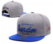 Wholesale Cheap NBA Oklahoma City Thunder Snapback Ajustable Cap Hat XDF 045