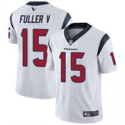 Wholesale Cheap Nike Texans #15 Will Fuller V White Men's Stitched NFL Vapor Untouchable Limited Jersey