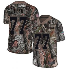 Wholesale Cheap Nike Eagles #77 Andre Dillard Camo Men\'s Stitched NFL Limited Rush Realtree Jersey