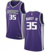 Wholesale Cheap Women's Sacramento Nike Kings #35 Marvin Bagley III Purple NBA Swingman Icon Edition Jersey