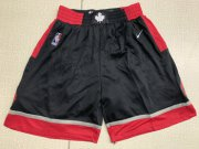 Wholesale Cheap Raptors Black Nike Swingman Shorts