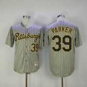 Wholesale Cheap Pirates #39 Dave Parker Grey Strip 1997 Turn Back The Clock Stitched MLB Jersey