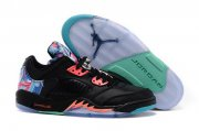 Wholesale Cheap Air Jordan 5 Chinese Kites Black/blue-pink