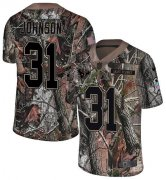 Wholesale Cheap Nike Texans #31 David Johnson Camo Men's Stitched NFL Limited Rush Realtree Jersey
