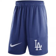 Wholesale Cheap Men's Los Angeles Dodgers Nike Royal Dry Fly Shorts