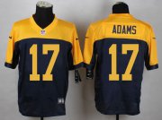 Wholesale Nike Packers #17 Davante Adams Navy Blue Alternate Men's Stitched NFL New Elite Jersey