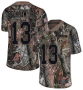 Wholesale Cheap Nike Browns #13 Odell Beckham Jr Camo Youth Stitched NFL Limited Rush Realtree Jersey