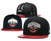 Wholesale Cheap New Orleans Pelicans Snapback Ajustable Cap Hat