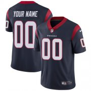 Wholesale Cheap Nike Houston Texans Customized Navy Blue Team Color Stitched Vapor Untouchable Limited Men's NFL Jersey