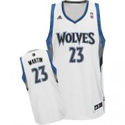 Wholesale Cheap Minnesota Timberwolves #23 Kevin Martin White Swingman Jersey