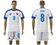 Wholesale Cheap Slovakia #8 Sabo Home Soccer Country Jersey
