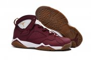Wholesale Cheap Air Jordan 7 Retro Shoes Red Brown/White