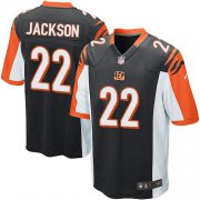 Wholesale Cheap Nike Bengals #22 William Jackson Black Team Color Youth Stitched NFL Elite Jersey
