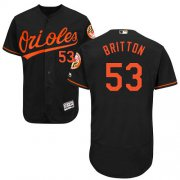 Wholesale Cheap Orioles #53 Zach Britton Black Flexbase Authentic Collection Stitched MLB Jersey