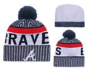 Wholesale Cheap MLB Atlanta Braves Logo Stitched Knit Beanies 005