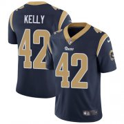 Wholesale Cheap Nike Rams #42 John Kelly Navy Blue Team Color Men's Stitched NFL Vapor Untouchable Limited Jersey