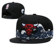 Wholesale Cheap Chicago Bulls Snapback Ajustable Cap Hat YD