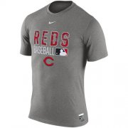 Wholesale Cheap Cincinnati Reds Nike 2016 AC Legend Team Issue 1.6 T-Shirt Gray