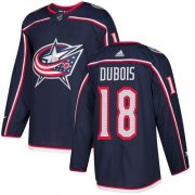 Wholesale Cheap Adidas Blue Jackets #18 Pierre-Luc Dubois Navy Blue Home Authentic Stitched Youth NHL Jersey