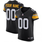Wholesale Cheap Nike Pittsburgh Steelers Customized Black Alternate Stitched Vapor Untouchable Elite Men's NFL Jersey