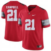 Wholesale Cheap Ohio State Buckeyes 21 Parris Campbell Red 2018 Spring Game College Football Limited Jersey