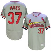 Wholesale Cheap Cardinals #37 Brandon Moss Grey Flexbase Authentic Collection Cooperstown Stitched MLB Jersey