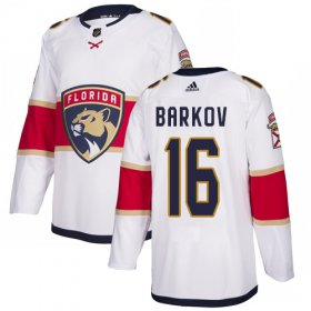 Wholesale Cheap Adidas Panthers #16 Aleksander Barkov White Road Authentic Stitched Youth NHL Jersey
