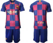 Wholesale Cheap Barcelona Blank 20th Anniversary Edition Home Soccer Club Jersey