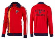 Wholesale Cheap NFL Atlanta Falcons Heart Jacket Red