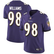 Wholesale Cheap Nike Ravens #98 Brandon Williams Purple Team Color Youth Stitched NFL Vapor Untouchable Limited Jersey